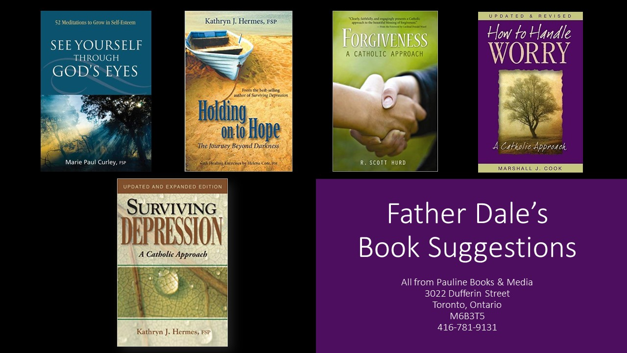 Spiritual Advisor Book Suggestions