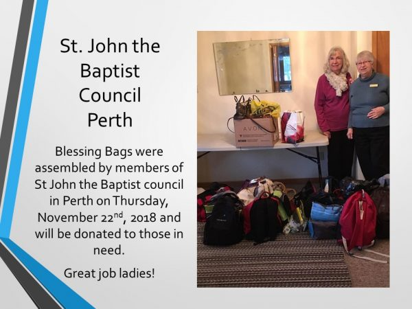 Blessing Bags Perth