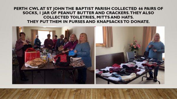 Perth CWL at St John the Baptist parish