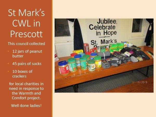 St Mark's CWL in Prescott